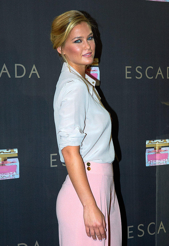 Bar Refaeli at Escada event in Barcelona.
