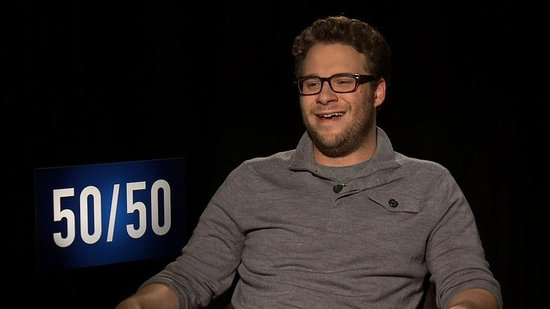 Video: Seth Rogen Talks Screaming Scenes, Getting Squeamish, and Failure For 50/50