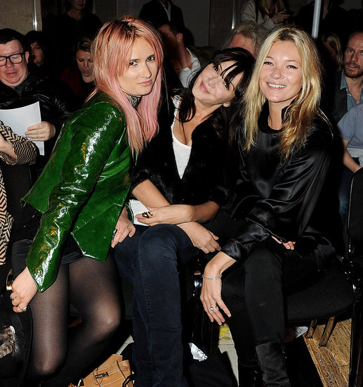 Kate Moss and friends.