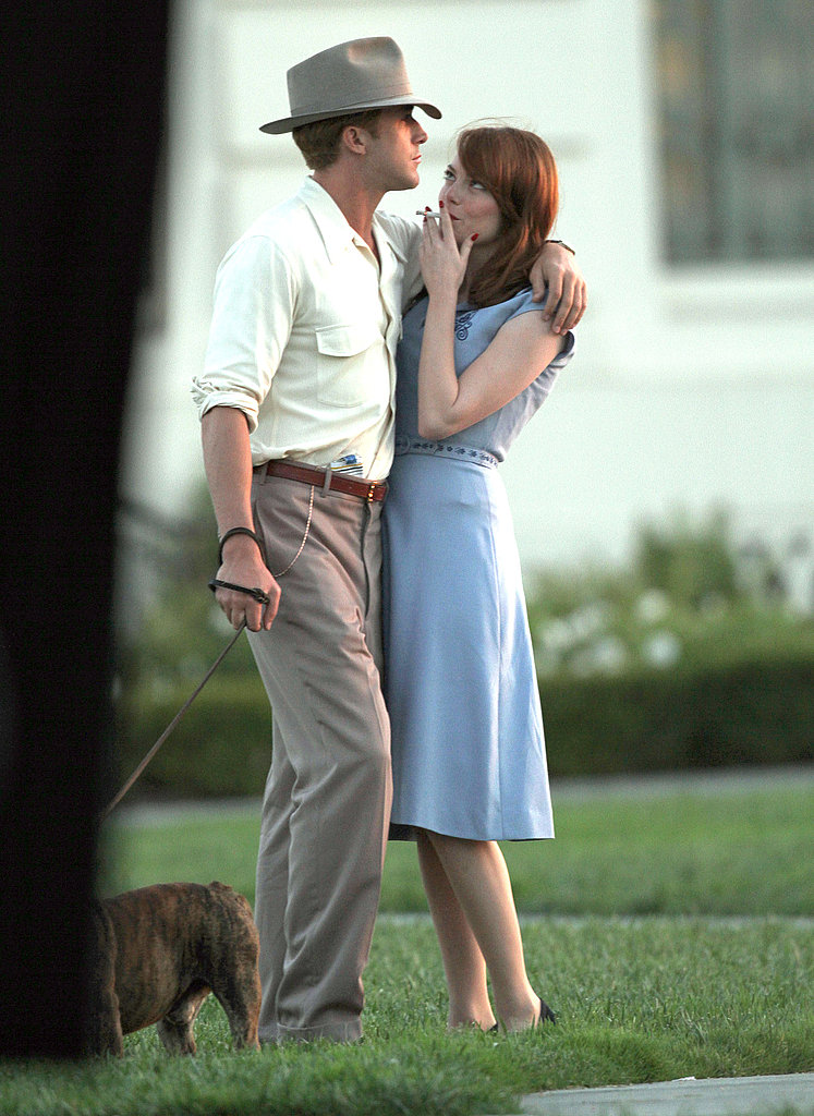 Emma Stone and Ryan Gosling worked on The Gangster Squad.