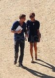 Ryan Gosling and Eva Mendes head to LA's Griffith Park Observatory.