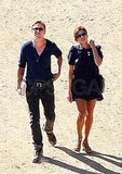 Hot couple Ryan Gosling and Eva Mendes.