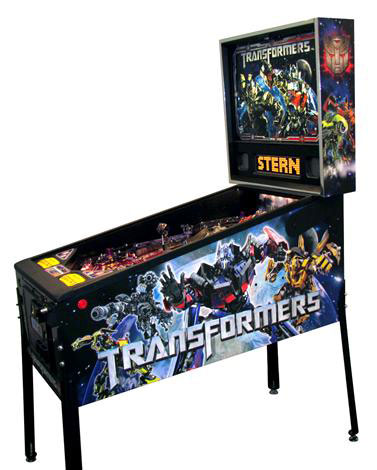 Be a Pinball Wizard With New Transformers Arcade Machine