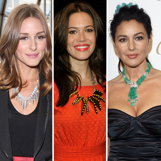 Celebrity Accessory Report: Cool Necklaces