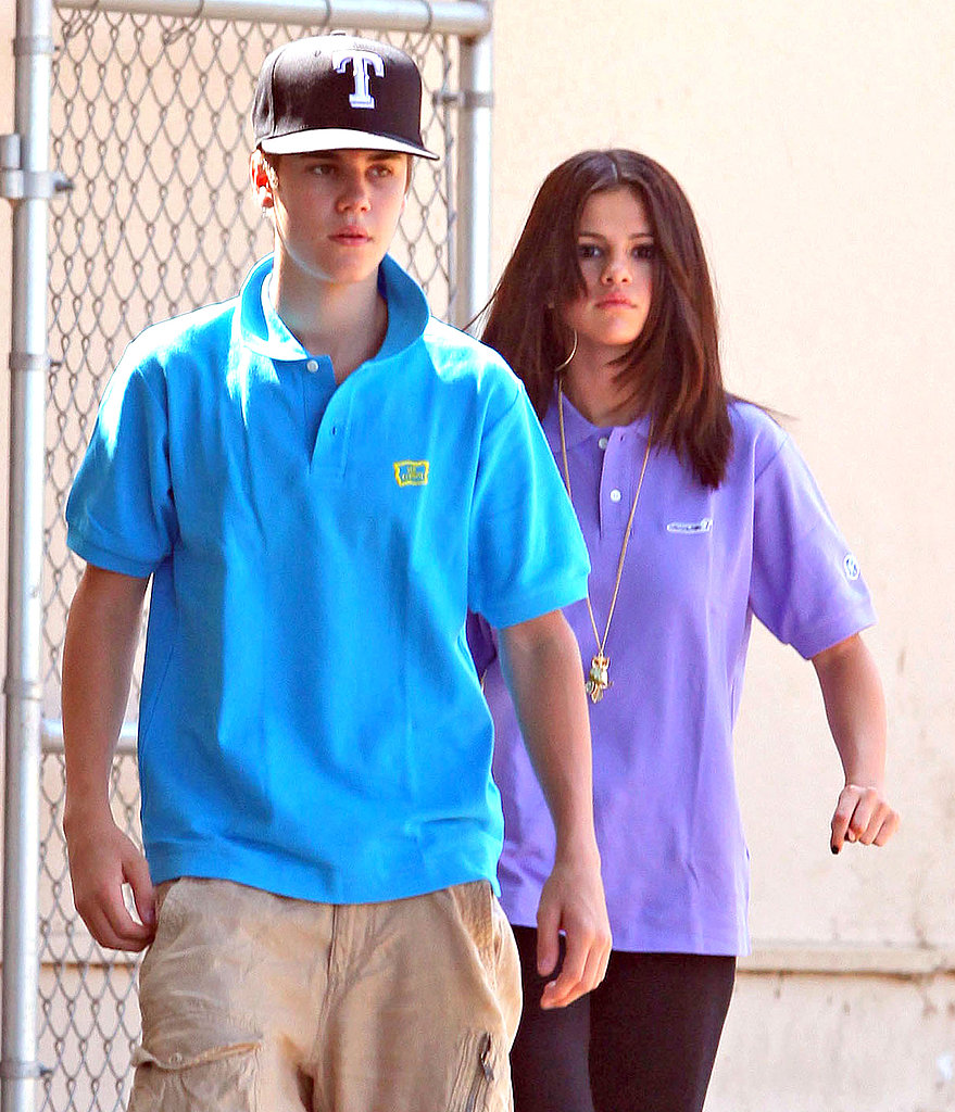 Justin Bieber and Selena Gomez visited the animals.