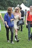 Kirsten Dunst walked around the park.