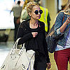 Nicole Richie at LAX After Birthday Pictures
