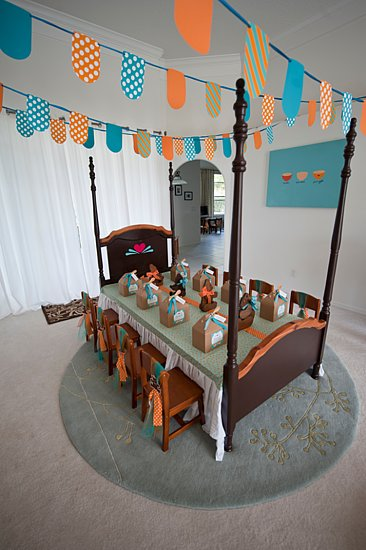Giant Kid-Sized Party Table
