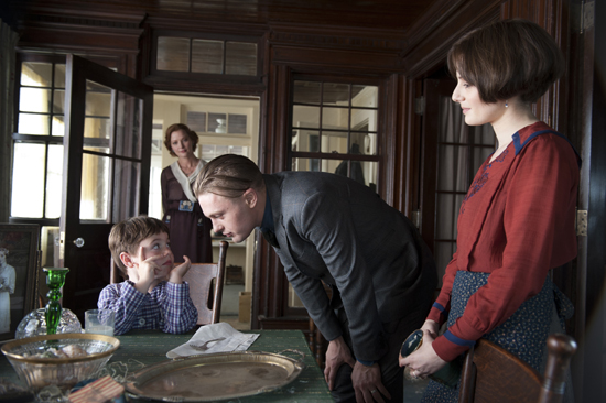 Michael Pitt as Jimmy Darmody and Aleksa Palladino as Angela Darmody on Boardwalk Empire.  Photo courtesy of HBO