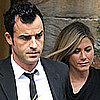 Jennifer Aniston and Justin Theroux&#039;s Date Night at Christie&#039;s Auction House (Video)