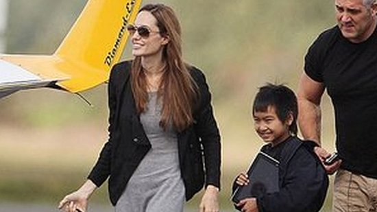 Aviator Angelina Jolie Says Co-Pilot Maddox Inspired Her to Fly