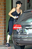 Sandra Bullock hits the gym.