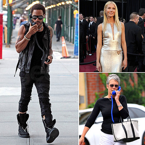 Celebrities With Retro Handsets
