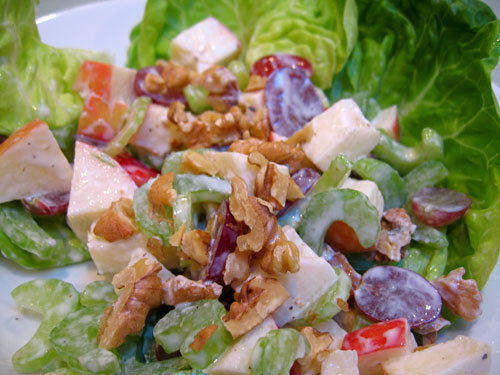Lighter Waldorf Salad