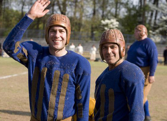 John Krasinski and George Clooney, Leatherheads