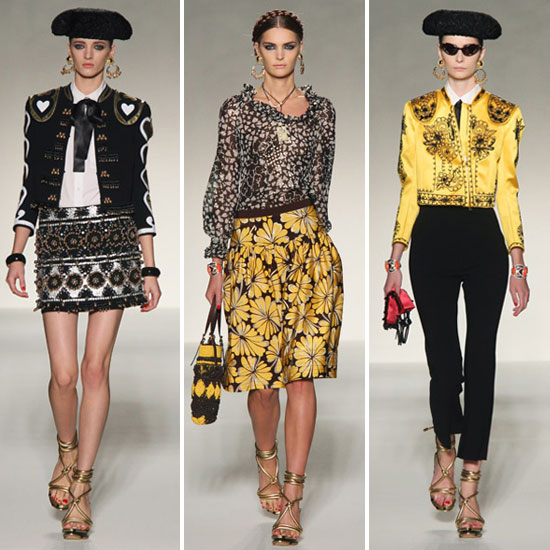 Moschino: Spring 2012