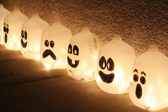 Halloween Ghost Jugs