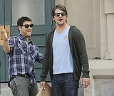 Adam Pally as Max and Zachary Knighton as Dave on Happy Endings. Photo copyright 2011 ABC, Inc.