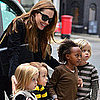 Angelina Jolie Visits Gwen Stefani's London Home Pictures
