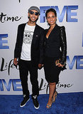 Alicia Keys and Swizz Beatz at Five screening in LA.