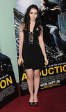 Lily Collins at the Abduction premiere in London.