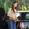 Katie Holmes Drives a Mini Cooper in Beverly Hills Pictures