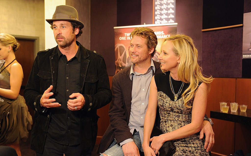 Patrick Dempsey, James Tupper, and Anne Heche weighed in on Cirque du Soleil's Iris.