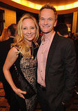 Neil Patrick Harris and Anne Heche laughed at the Iris premiere in LA.
