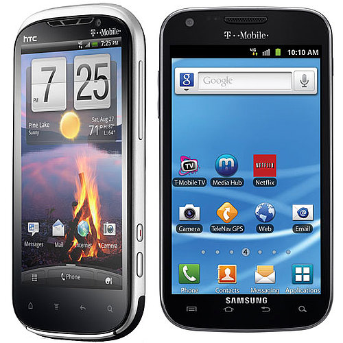 Samsung Galaxy II and HTC Amaze 4G Details