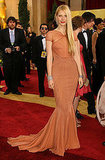 Gwyneth flaunted her curves in this Zac Posen gown at the Oscars in 2007.