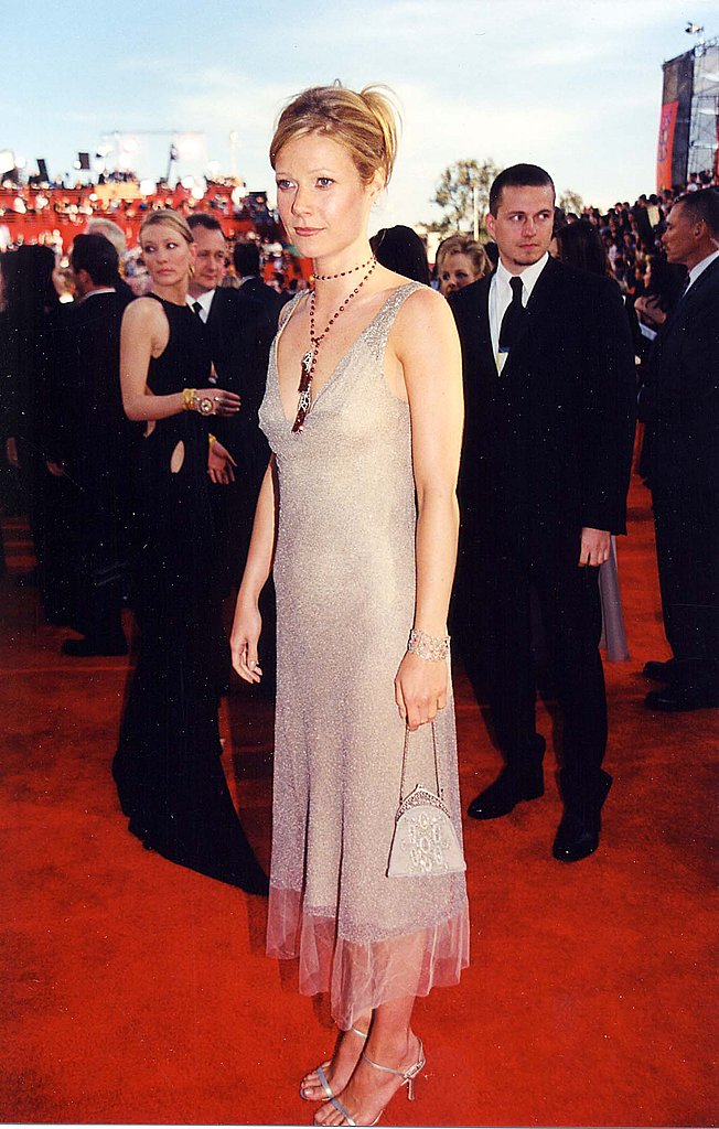 A femme sheath at the 2000 Oscars.