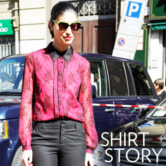 Shop Pretty Blouses For Fall 2011