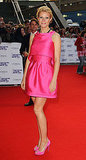 Perfect in pink Prada at the 2010 National Movie Awards.