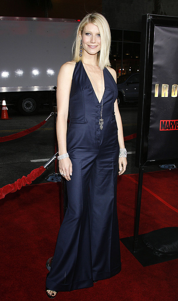 A Stella McCartney jumpsuit for the Iron Man premiere in 2008.