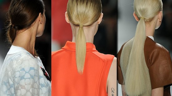 Trend Report: Fresh Ponytails at New York Fashion Week
