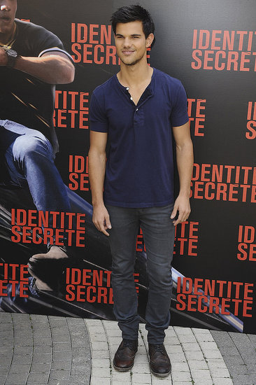 Taylor Lautner Reveals His Secret Identity in Paris