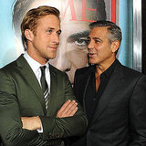 Ryan Gosling and George Clooney Pictures at Ides of March LA