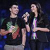 Nina Dobrev and Joe Jonas at WE Day in Toronto Pictures