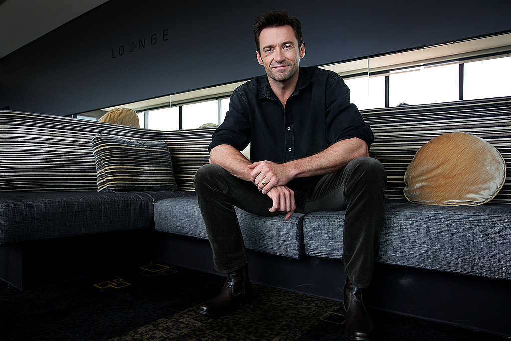 Hugh Jackman made a promotional trip to Sydney for Real Steel.