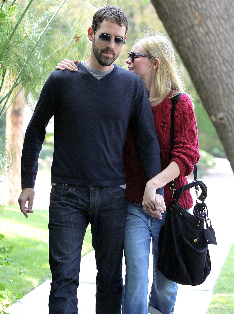 Kate Bosworth showed PDA with Michael Polish.