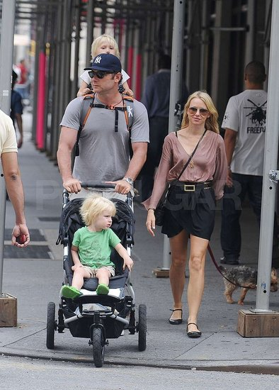 Naomi Watts and Liev Schreiber Spend a Family Day Out in NYC
