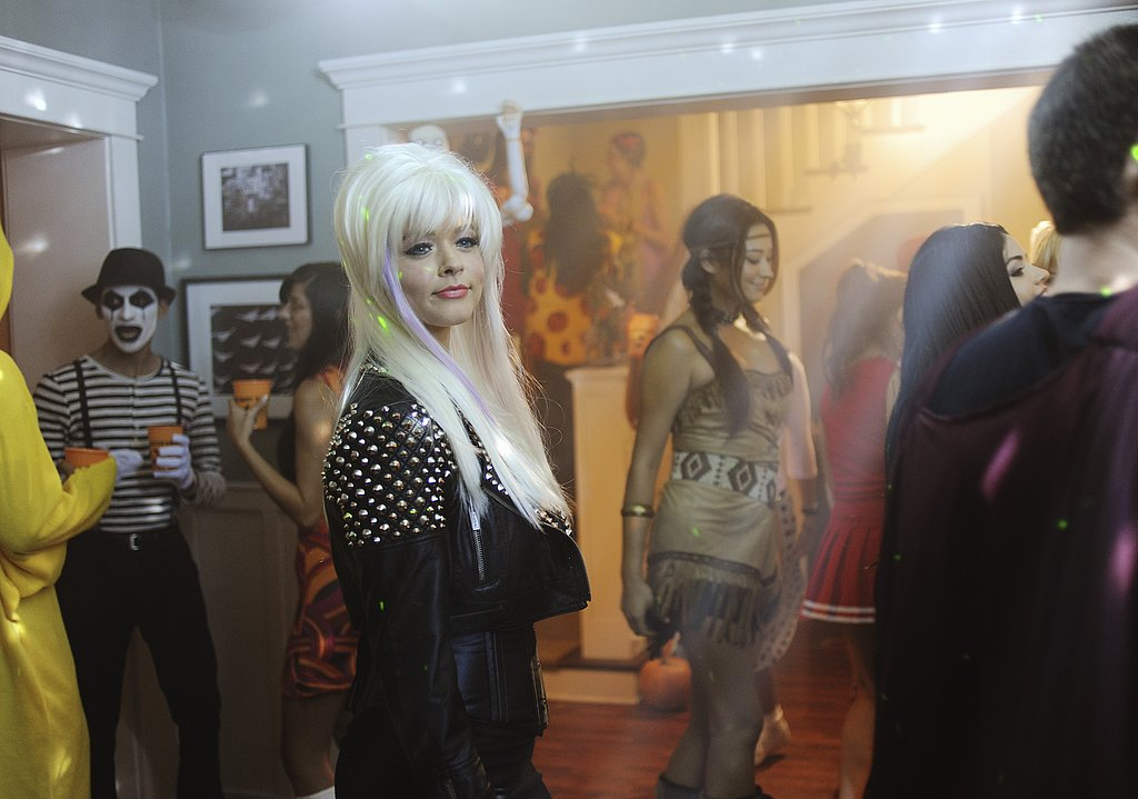 Alison looks like she's dressed up as Lady Gaga; what do you guys think?