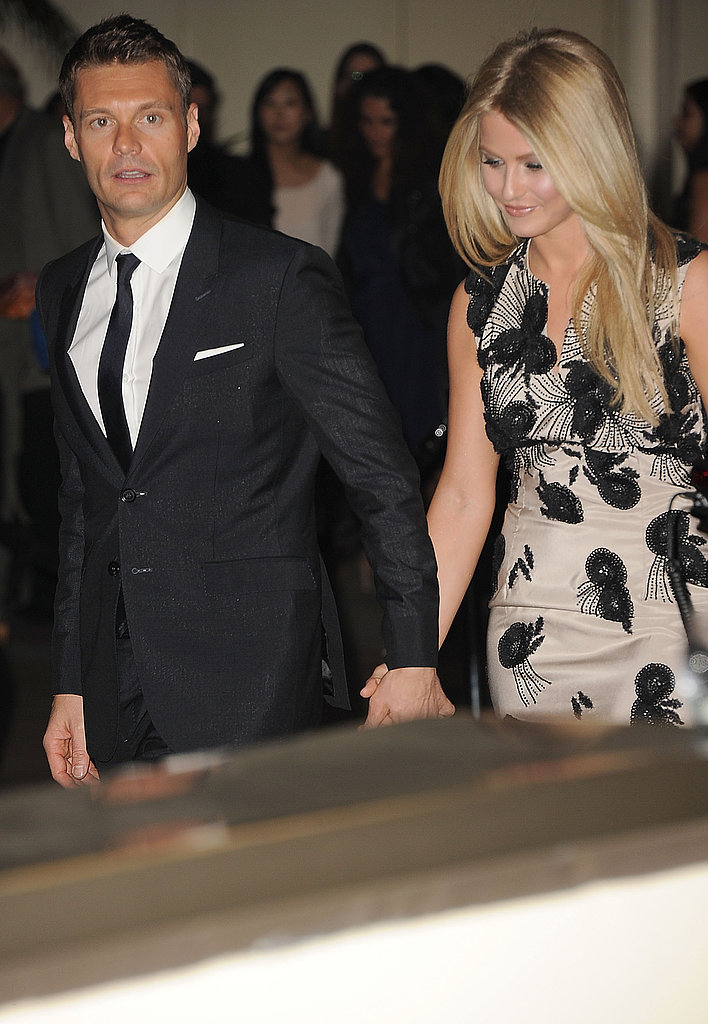 Julianne Hough and Ryan Seacrest walked hand in hand to the Promise Gala.