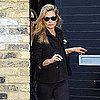 Kate Moss Pictures at Shoot With Mario Testino in London