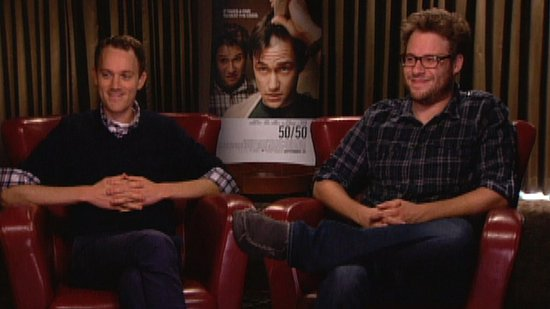"50/50's Seth Rogen and Will Reiser Talk About Their Real Friendship and ""Amazing"" Joseph Gordon-Levitt"