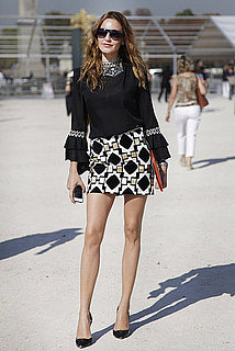 Spring 2012 Paris Fashion Week Street Style: Day 1