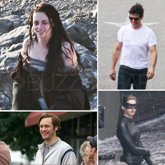Kristen Stewart, Tom Cruise, Alexander Skarsgard, and More Stars on Set This Week!