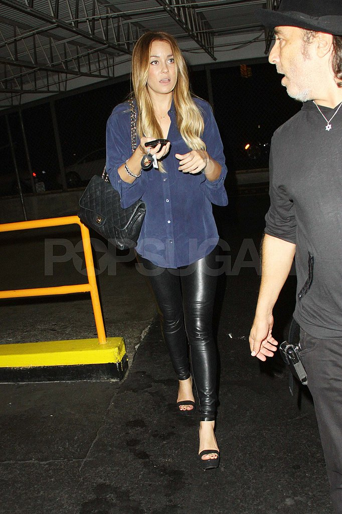 Lauren Conrad leaves Beacher's Madhouse in Hollywood.