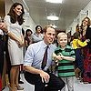 Kate Middleton Pictures With Kids at Royal Marsden