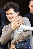Orlando Bloom looks so cute with son Flynn Bloom.